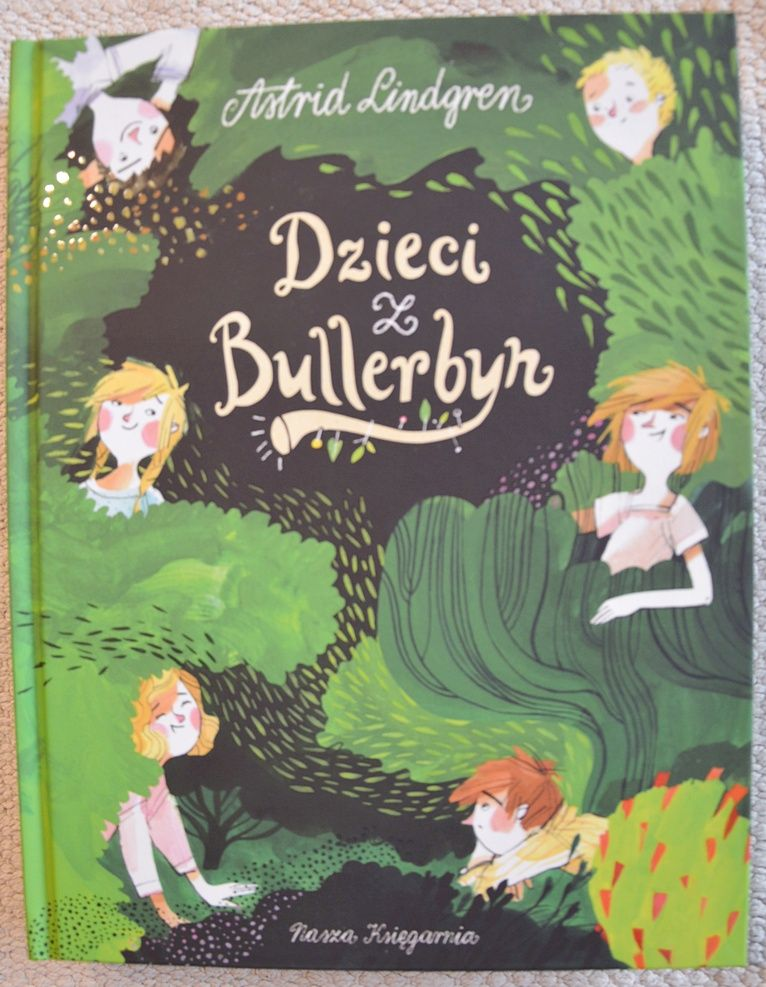 Astrid Lindgren Dzieci Z Bullerbyn Children Illustration Little Girl Gifts Book Cover Design