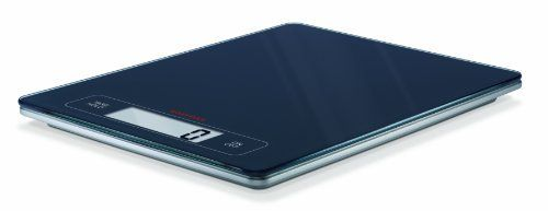 Soehnle 67080 Page Profi Kitchen Scale by Soehnle. $37.30. Convenient tare/hold function gives a precise read out 10 seconds after the weighing process. Made of glass/plastic; Measures 10.35-inch by 7.87-inch by .7-inch; 5 year warranty. Measures accurately within 1 g/0.1 ounce. Super slender profile makes this big brother of Soehnle's popular Page Scale a hot seller. Features patented soft touch controls and extra-large weighing platform. The big brother of Soeh...