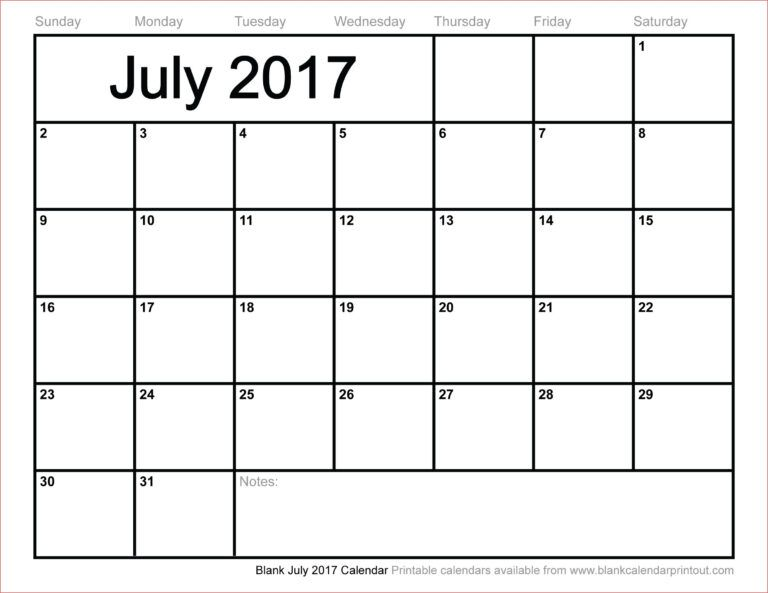 Month At A Glance Blank Calendar In 2020 With Images Blank