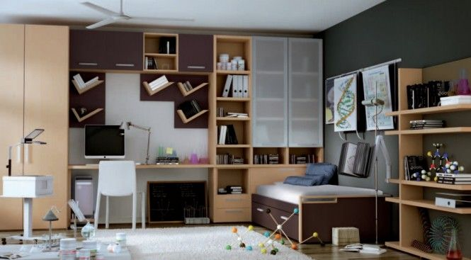 Teen roomdelightful scientist themed kids room themed teen rooms for artist dancer rockstar and scientist bookcase design table and chair b