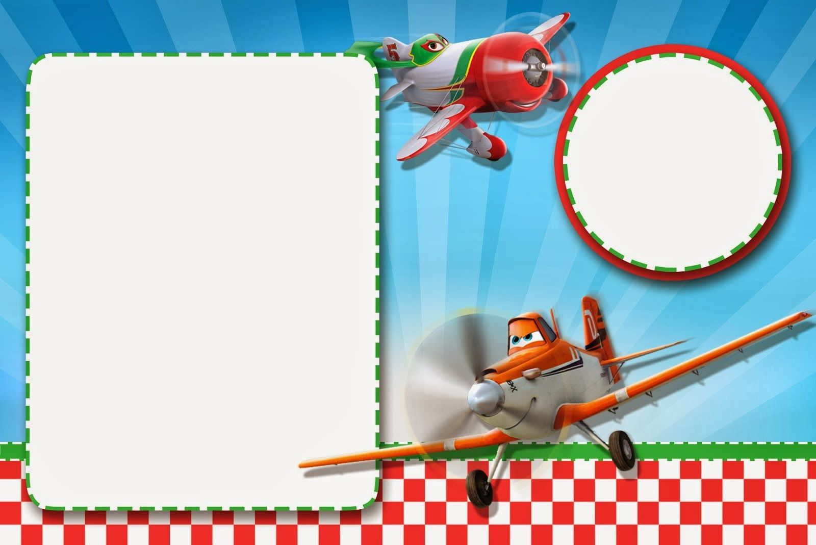 Planes (Disney): Free Printable Cards or Invitations. - Is it for ...