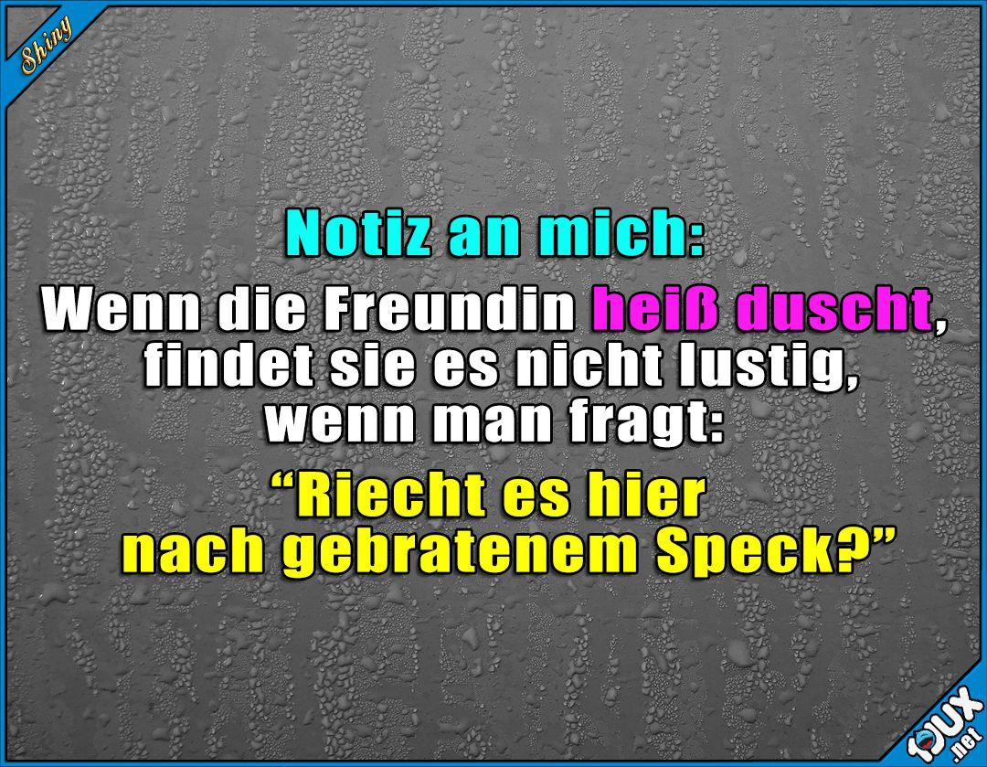 Kommt nicht so gut an x.x #Notizanmich #Spruchbild #nurSpaß #Freundin #ärgern #Humor