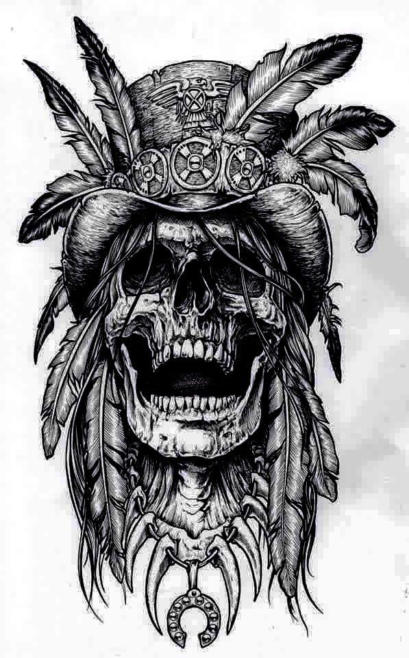 pencil drawing skulls pinterest tattoo tatting and tatoo. Black Bedroom Furniture Sets. Home Design Ideas