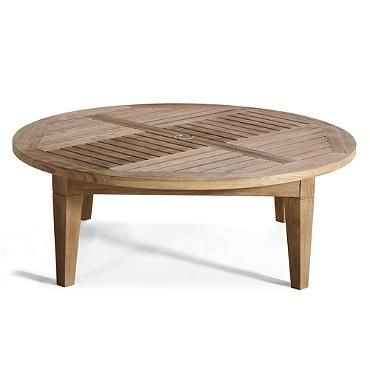 Hyde Park Solid-Teak Chat Table