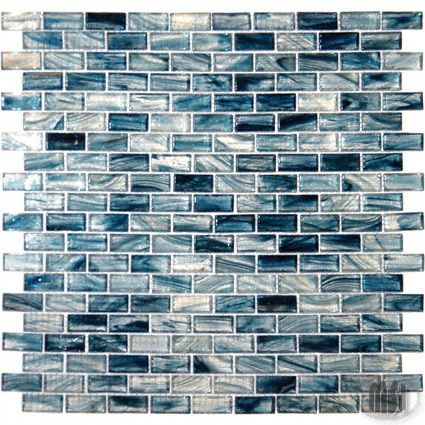 Blue Cotton Ice Glass Ice Glass 1 25x0 6x6mm Tile Mosaics Mosaic Glass Mosaic Tiles Glass Mosaic Tiles