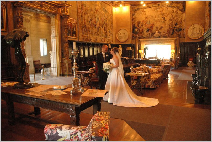 Hearst Castle State Park  $20,000 gets you the whole hilltop estate for your wedding
