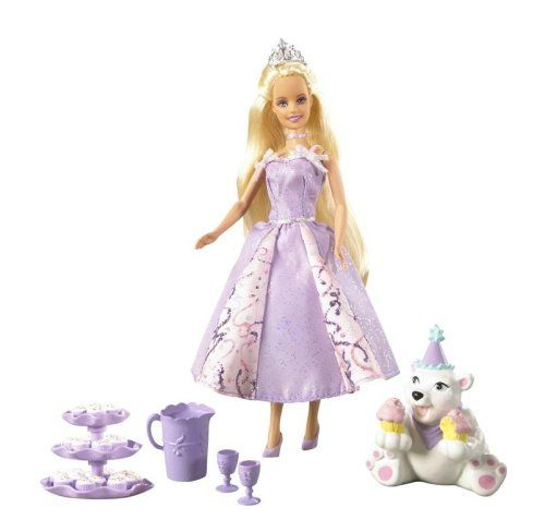 Amazon.com: Barbie Mini Kingdom Princess Annika Doll: Toys & Games
