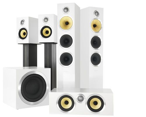 Or Build A Surround Sound Speaker System All In White