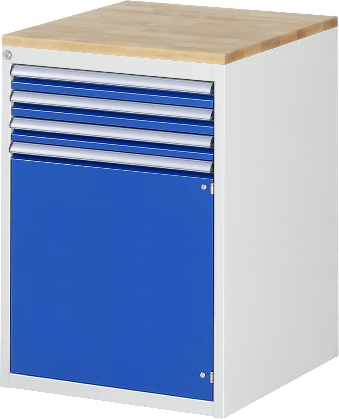 Schubladenschrank Serie 7000 Typ L5 6ar 580x650x825mm Buche Top Teilauszug Gtardo De In 2020 Schubladenschrank Schubladen Schubladenauszug