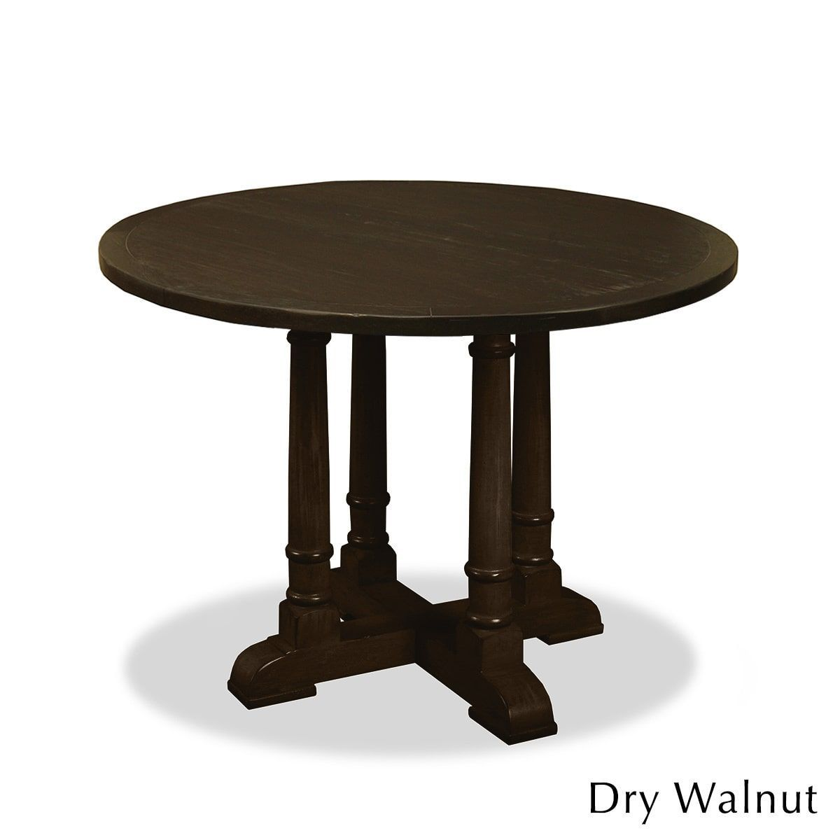 South cone home victoria wood counter or bar height dining table 42 south cone home victoria wood counter or bar height dining table 42 inch round table color brown size 42 watchthetrailerfo