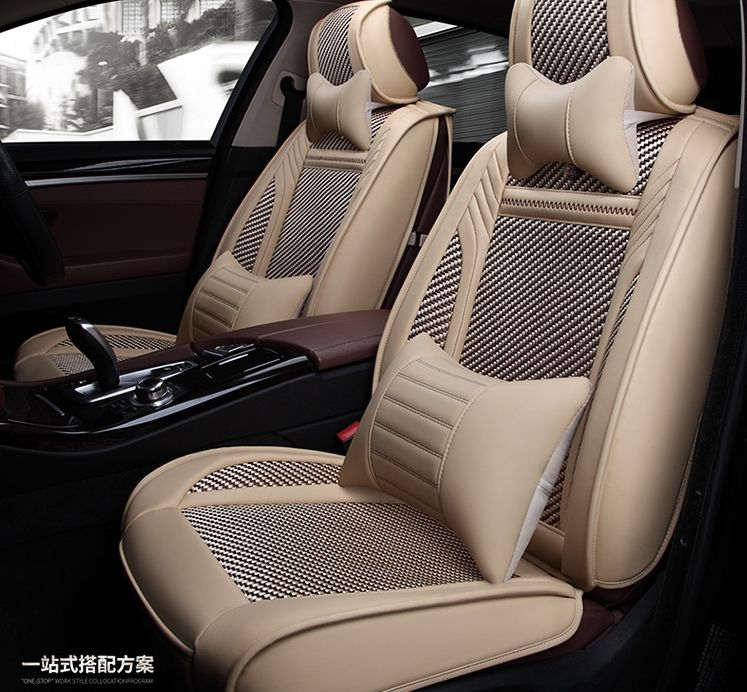 High Quality Full Set Car Seat Covers For Opel Astra 2017 2009 Comfortable Breathable Seat Cover For Astra 2014 F Car Seats Interior Accessories Carseat Cover