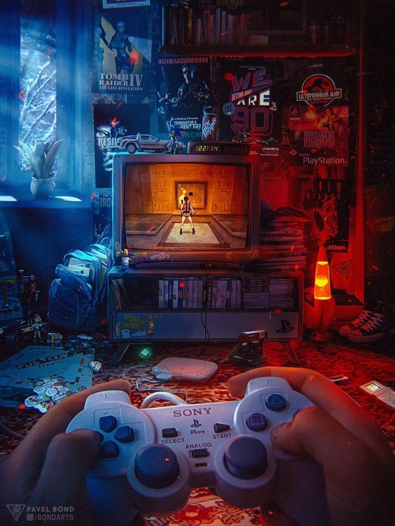 •Pavel Bond Retro gaming art, Gaming wallpapers