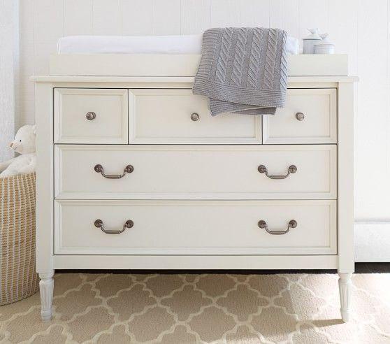 Blythe Dresser & Topper Set | Pottery Barn Kids | cribs | Pinterest