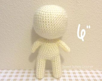 Amigurumi Doll Anime : Amigurumi crochet doll pattern anime kiki the kitty cat girl