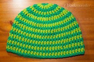 Mütze Häkeln Beanie Mit Anleitung Für Größenänderungen Crochet