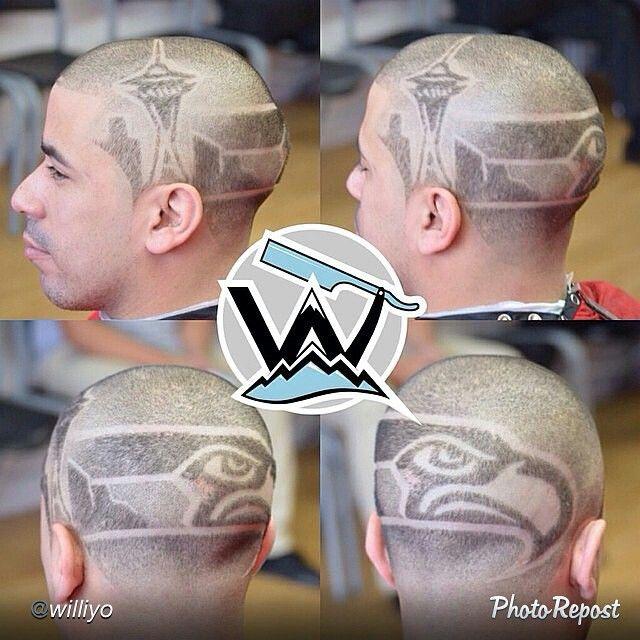 Haircut Hair Tattoos Kids Hairstyles Seahawks Game Day