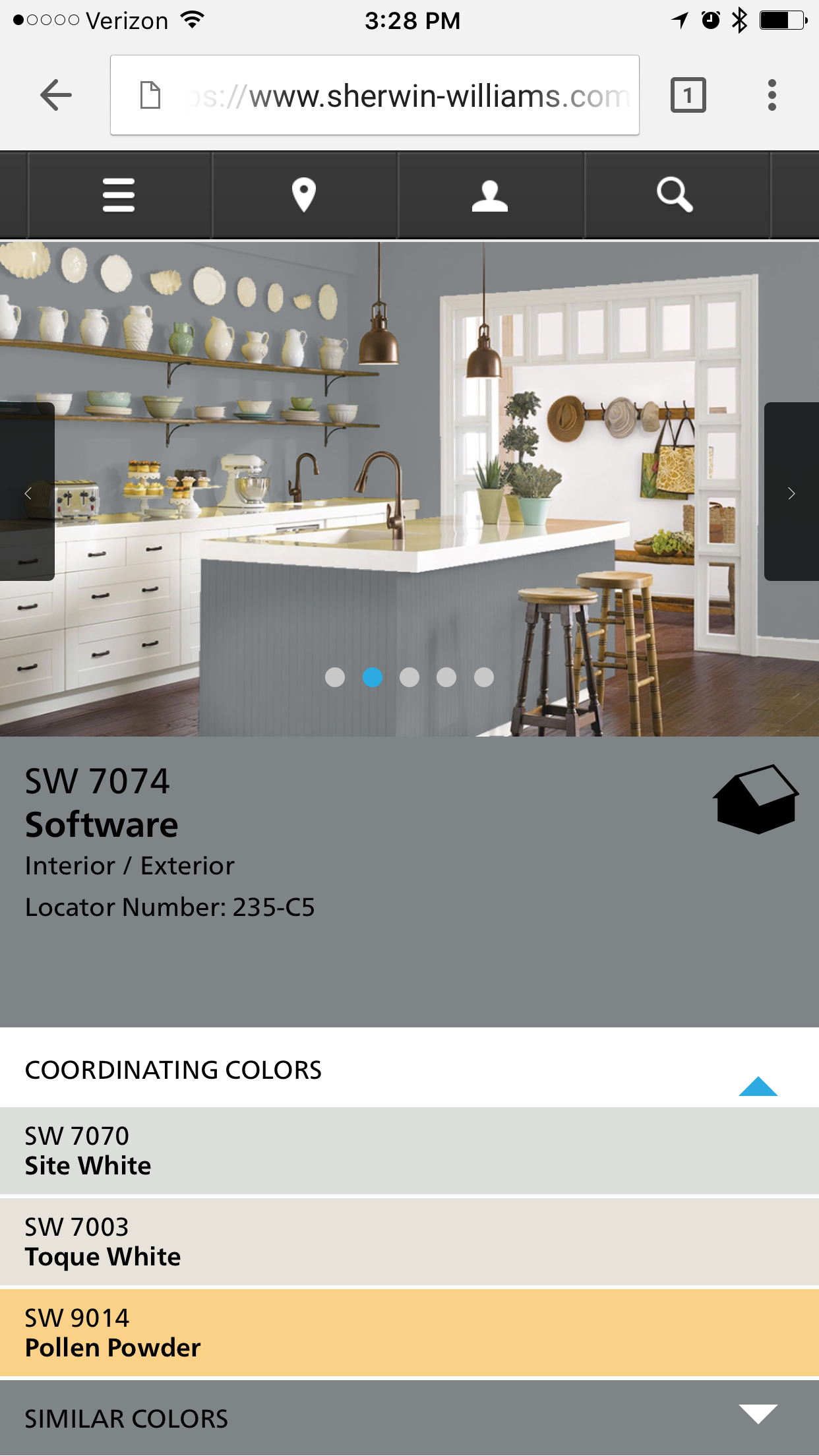 Kitchen Software Motion Sensor Faucet By Sherwin Williams Interior Design Grey Cabinets Woodland House Magazine