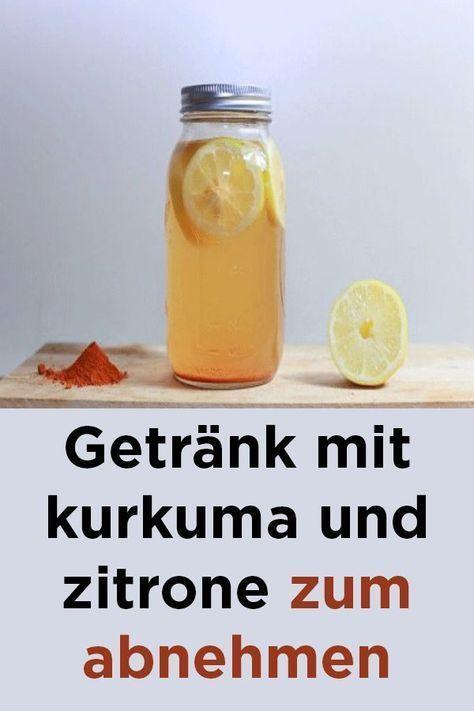 Wasser mit Knoblauch und Zitrone, um Gewicht zu verlieren