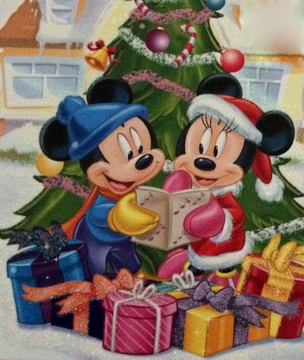 christmas disney mickey minnie mouse disney um. Black Bedroom Furniture Sets. Home Design Ideas