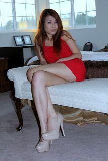 Double Crossed Legs Photos