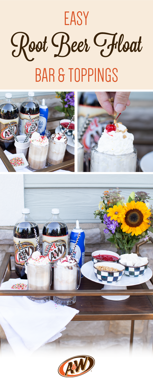 Summertime Root Beer Float Bar | Coffee Beans and Bobby Pins