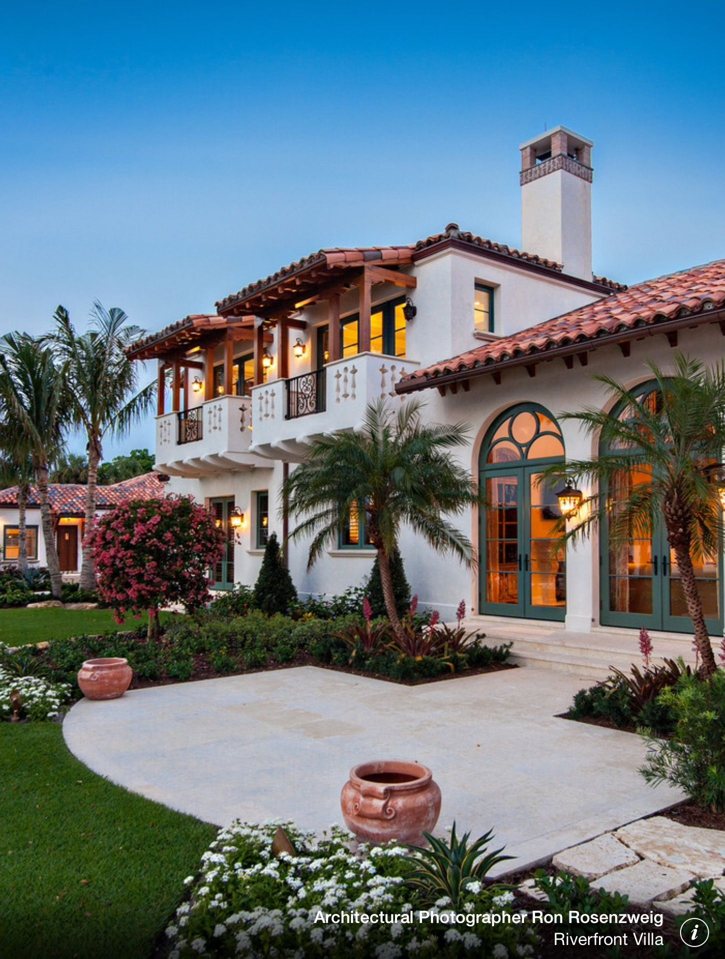 Beautiful House Front Yard Spanish Design   Home Decorating Trends   Homedit