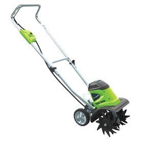 Greenworks 8 Amp 10 In Corded Electric Cultivator Greenworks