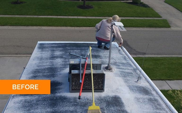 Instant RV Roof Sealant RV Roof Magic Roof sealant