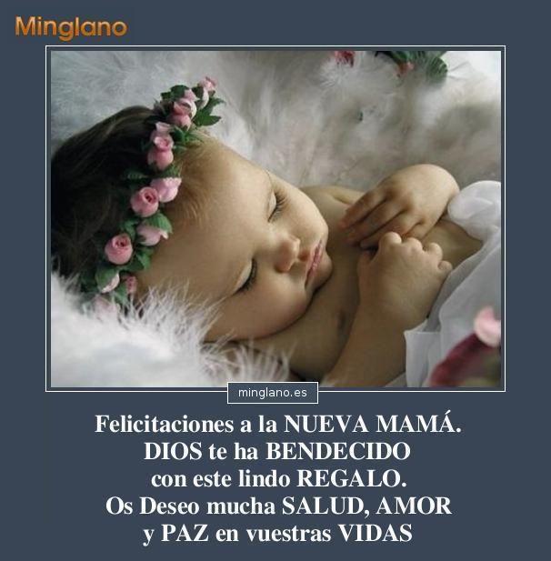 Felicitacion a la nueva madre 606 617 - Felicitar la navidad a una amiga ...