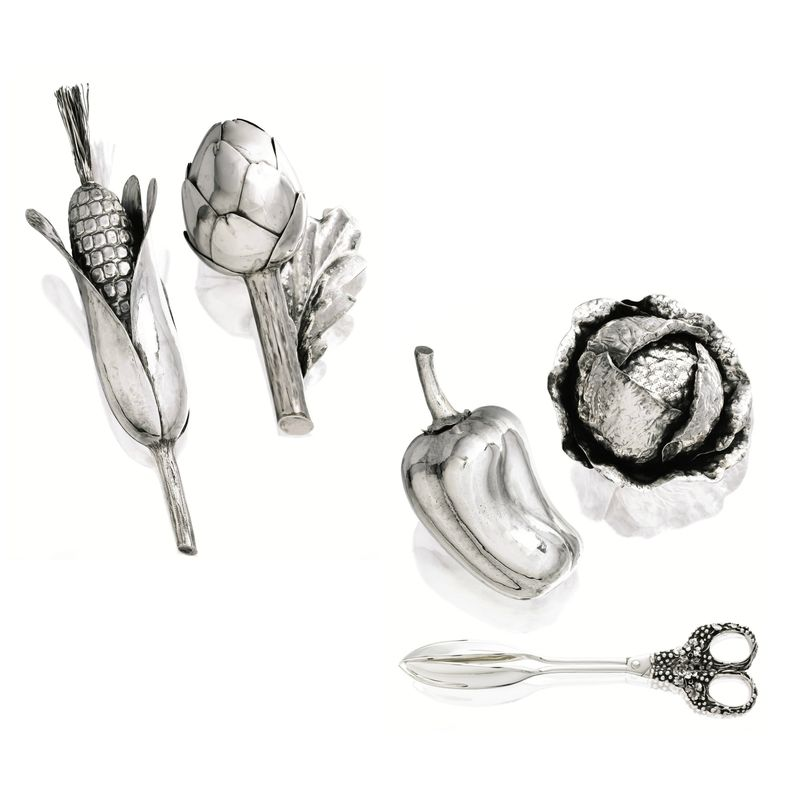 Silver 'Crops' collection, Gianmaria Buccellati