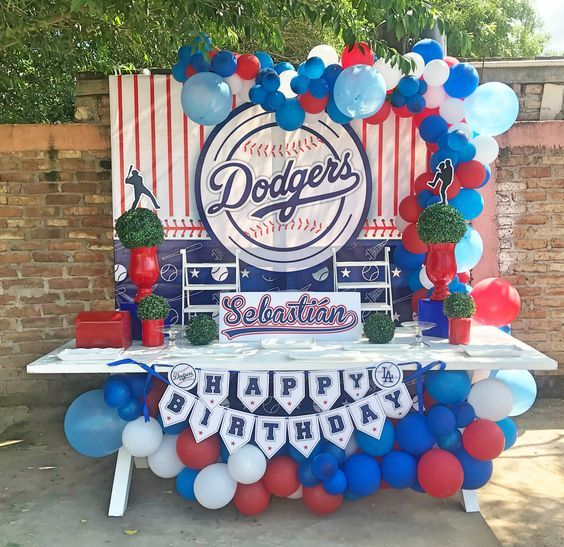Temas Para Fiesta De Niño De 10 Años La Mejor Guía Baseball Theme Birthday Party Baseball Birthday Party Baseball Birthday Party Decorations