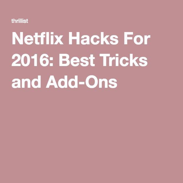 20 netflix hacks you aren 39 t using but should be - Diy shows on netflix ...