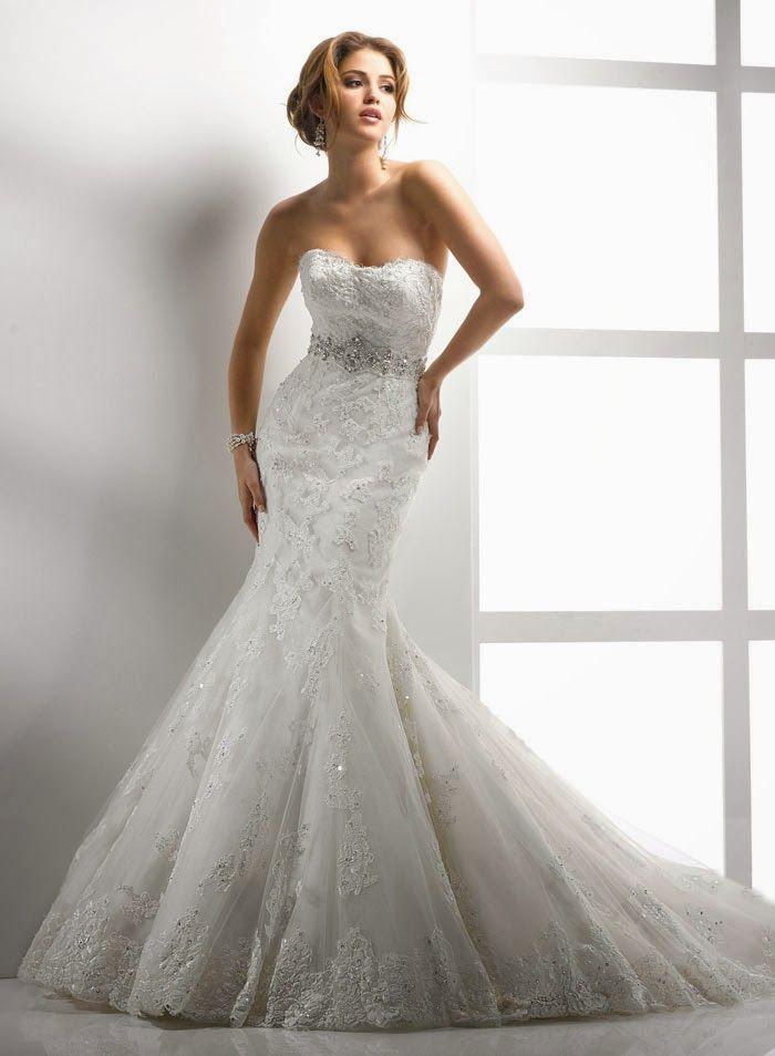 25 Best Mermaid Wedding Dresses | Mermaid wedding dresses, Wedding ...