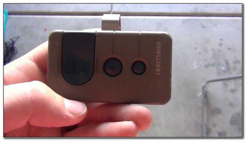 Reset Craftsman Garage Door Remote Check More At Http