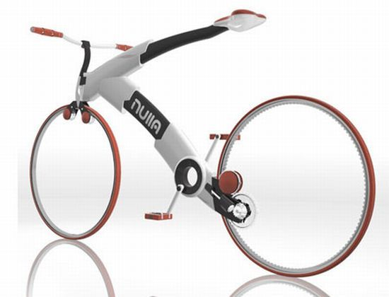 Hubless Bmx Concept Bike With A Gear System Sans Chain Bicycle
