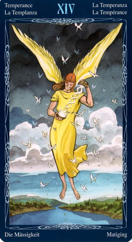 Resultado de imagem para temperance tarot mystic