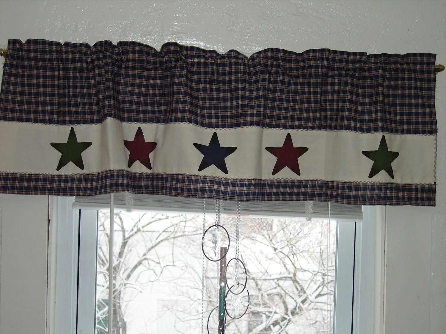 Primitive Country Stars valance | Manualidades | Pinterest ...