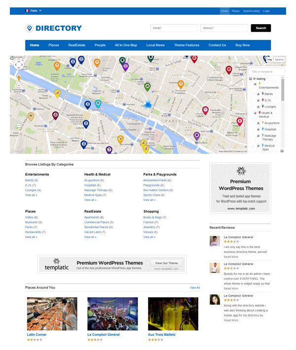 A Collection of Great WordPress Directory Themes and Plugins ...
