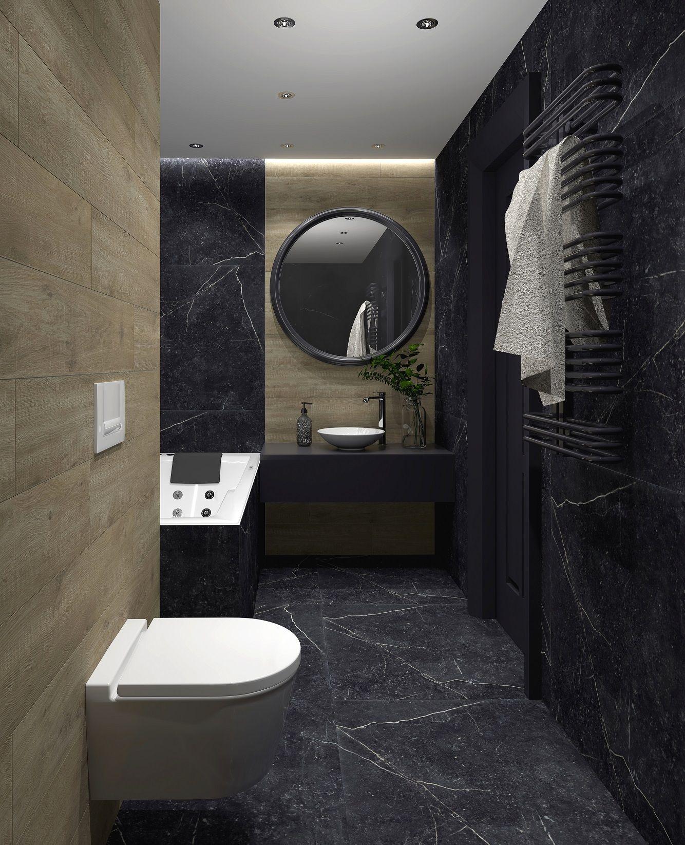 Foornipl Salon łazienek Blu Drewno Marmur Black