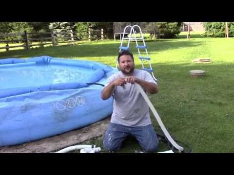How To Use A Garden Hose As A Pool Vac Very Cool Tip Easy To Do Youtube Swimming Pool Vacuum Intex Pool Above Ground Pool Vacuum