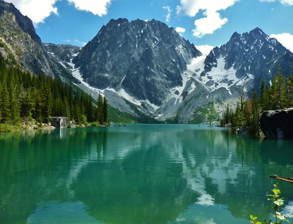 Colchuck lake washington trails association outdoor for Fishing lakes in washington