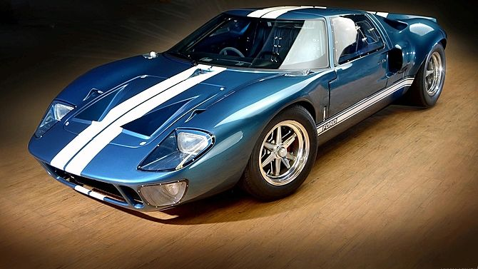 the special built gt40 mk1 that was constructed for the fast and furious completely restored