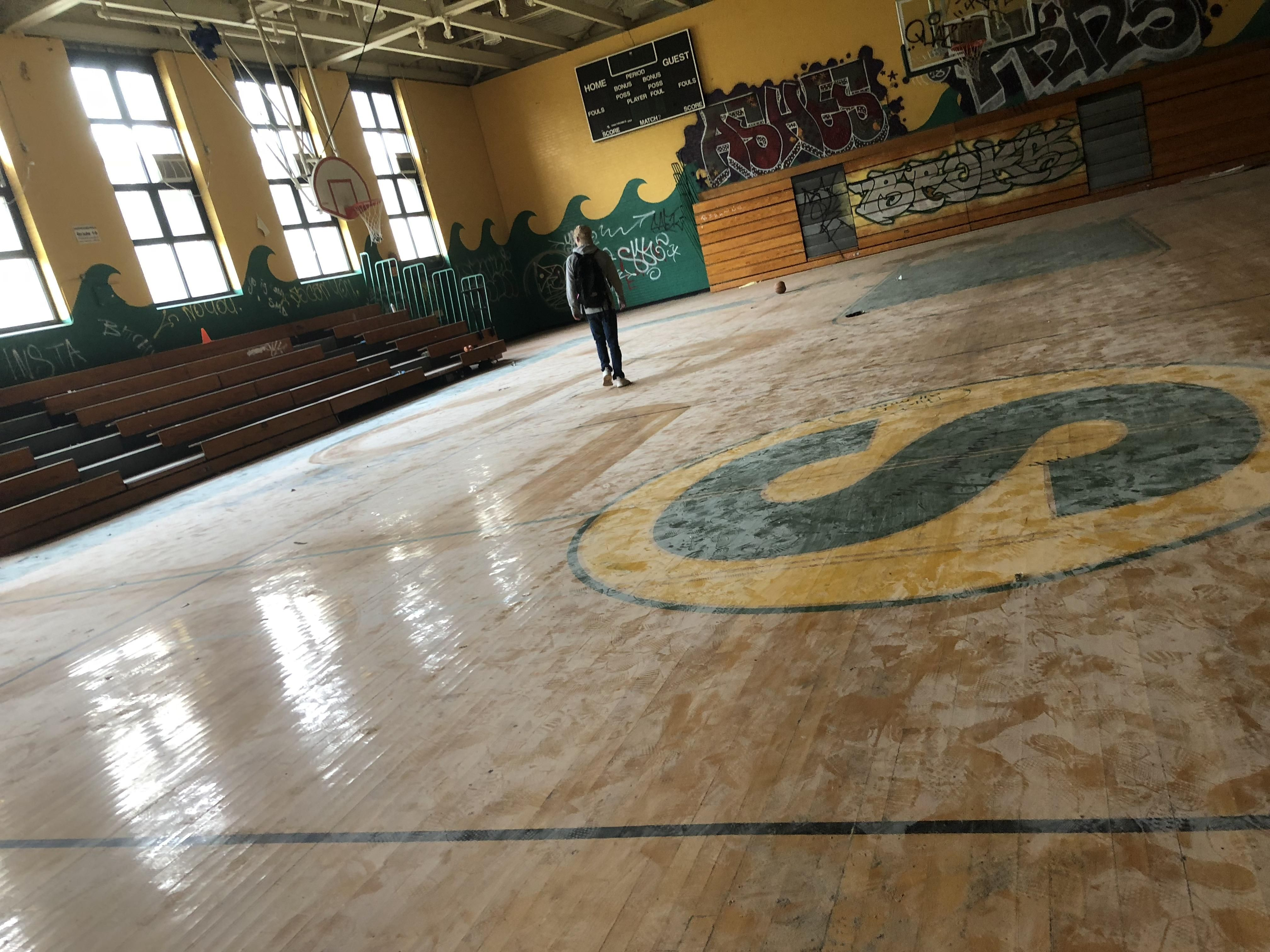 Abandoned Dcps Basketball Powerhouse Which Produced Nba Players Such As Sherman Douglas Elgin Baylor And Ollie Johnson 4032 Elgin Baylor Abandoned Basketball