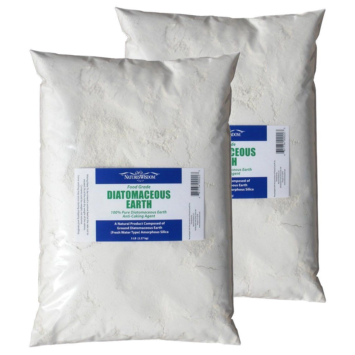 Food Grade Diatomaceous Earth 10 lb. by Natures Wisdom 25