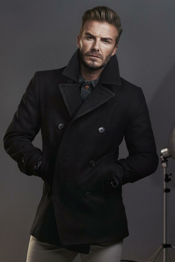 David Beckham stars for H&M 2015 fall campaign