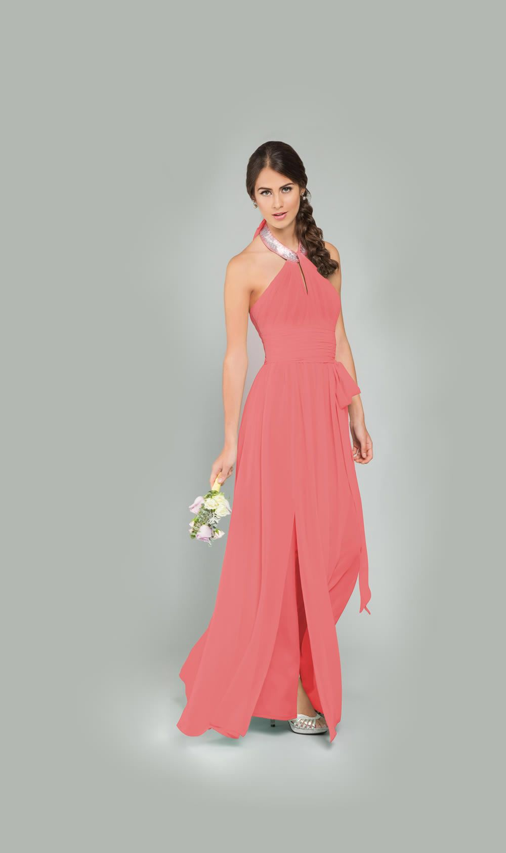 Vestido dama de honor www.bridesmaids.mx #boda #damasdehonor ...