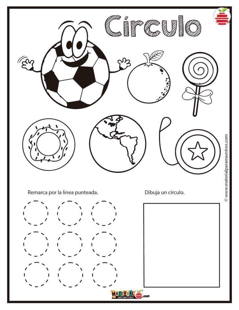 Fichas Actividades De Figuras Geometricas Figuras Geometricas Para Preescolar Figuras Geometricas Para Ninos