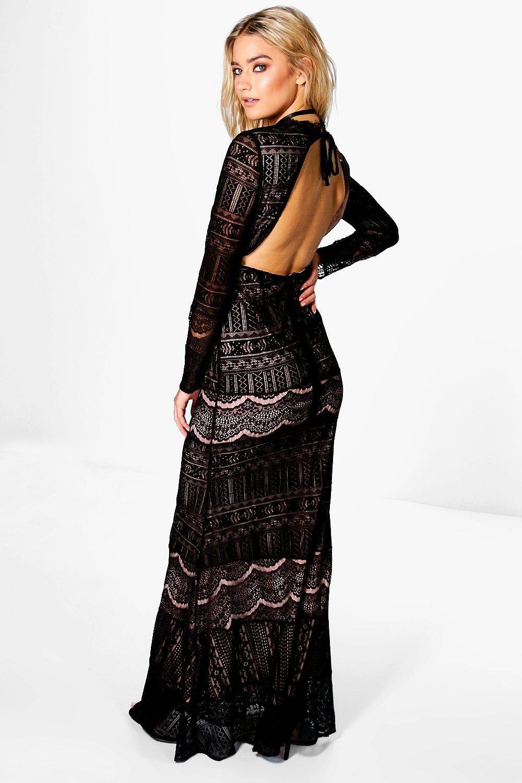 e1b05b891a Boutique Aisling Lace Open Back Maxi Dress | Dresses. | Open back ...