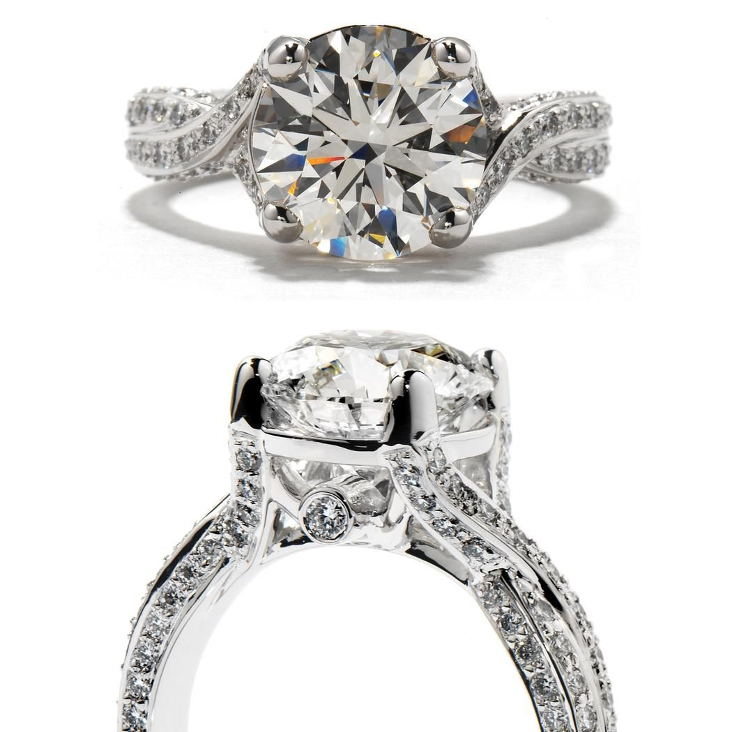 Refined Solitaire HOF Engagement Ring at Clowes Jewellers, Alberta, Canada#.VRHNvWB0yUk