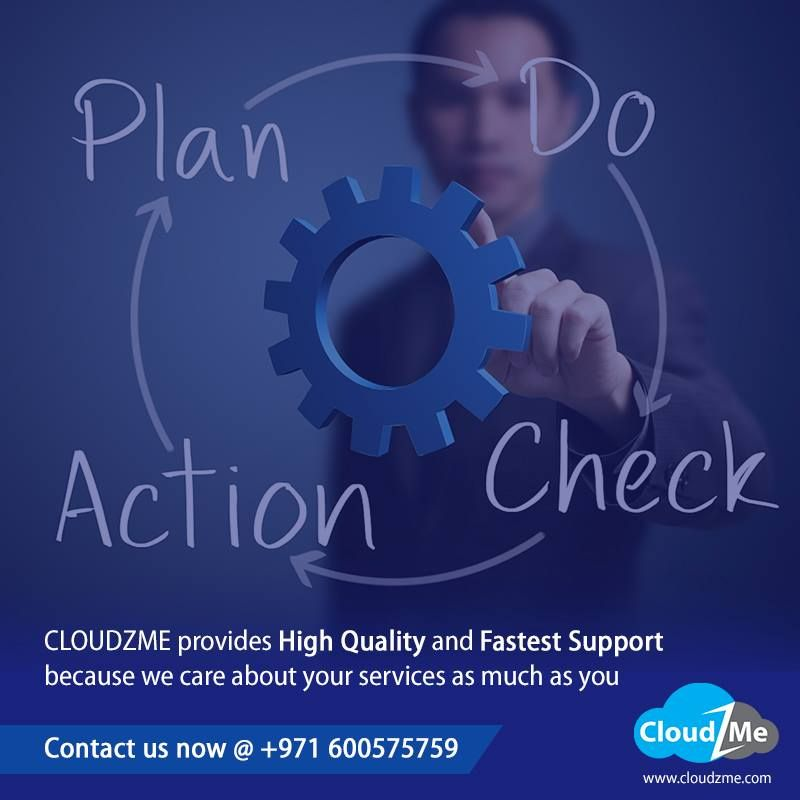 CloudZme provides High Quality and Fastest Support because